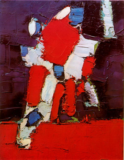 Nicolas de Staël - Football Players
