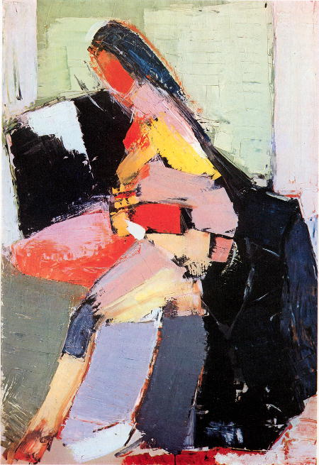 Nicolas de Staël - Portrait of Anne