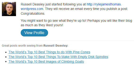 Russell Deasley just started following you